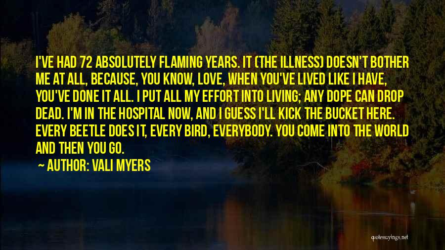 I'm Done Love Quotes By Vali Myers