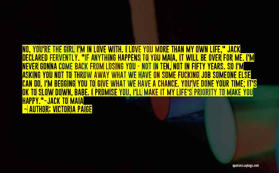 I'm Done Love Quotes By Victoria Paige
