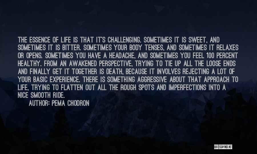 I'm Done Trying To Be Nice Quotes By Pema Chodron