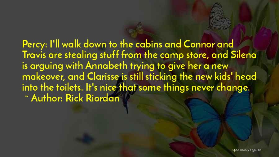 I'm Done Trying To Be Nice Quotes By Rick Riordan