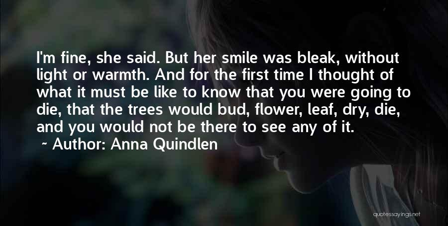 I'm Fine Without You Quotes By Anna Quindlen
