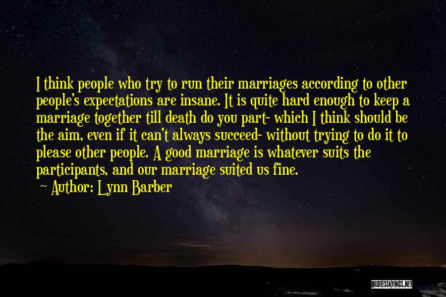 I'm Fine Without You Quotes By Lynn Barber