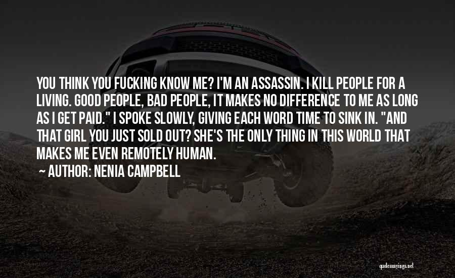 I'm Giving You Time Quotes By Nenia Campbell