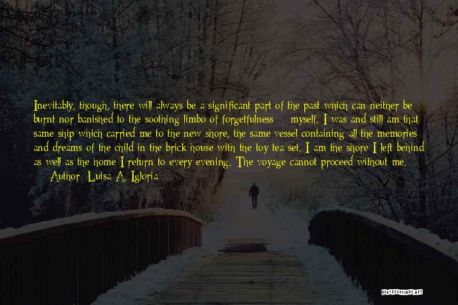 I'm In Limbo Quotes By Luisa A. Igloria