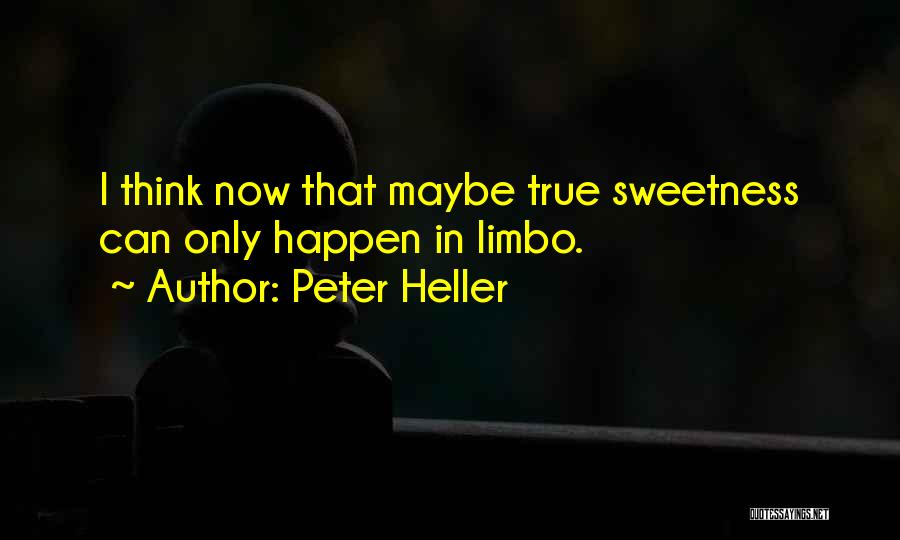 I'm In Limbo Quotes By Peter Heller