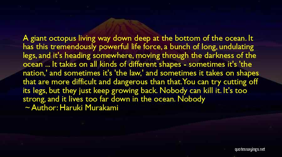 I'm Just Feeling Down Quotes By Haruki Murakami
