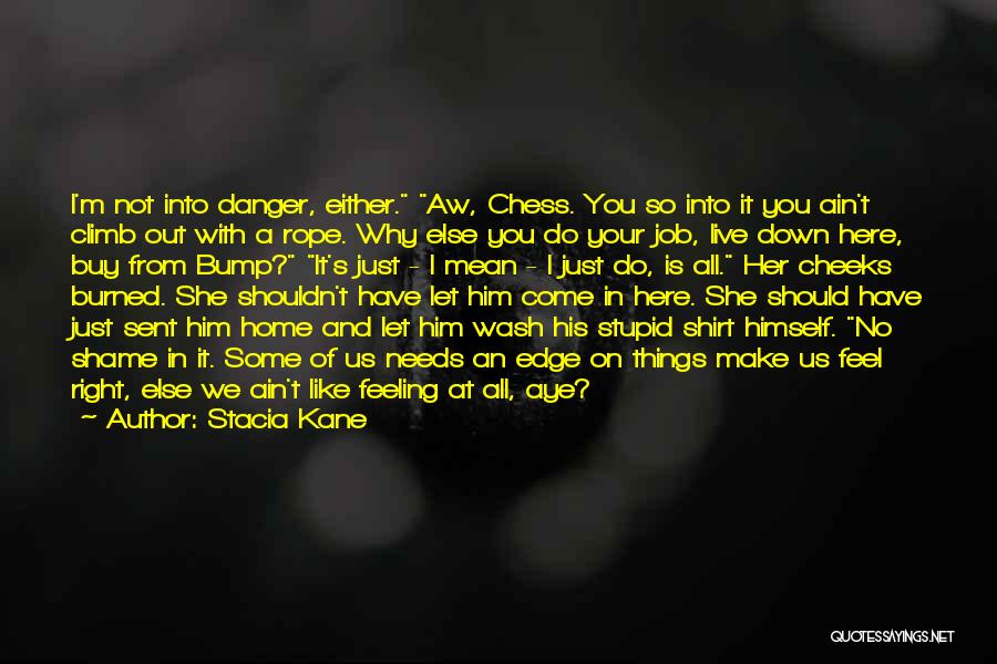 I'm Just Feeling Down Quotes By Stacia Kane