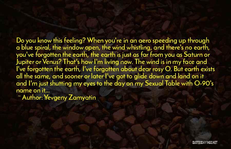 I'm Just Feeling Down Quotes By Yevgeny Zamyatin