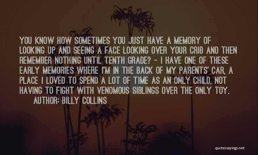 I'm Just Nothing To You Quotes By Billy Collins