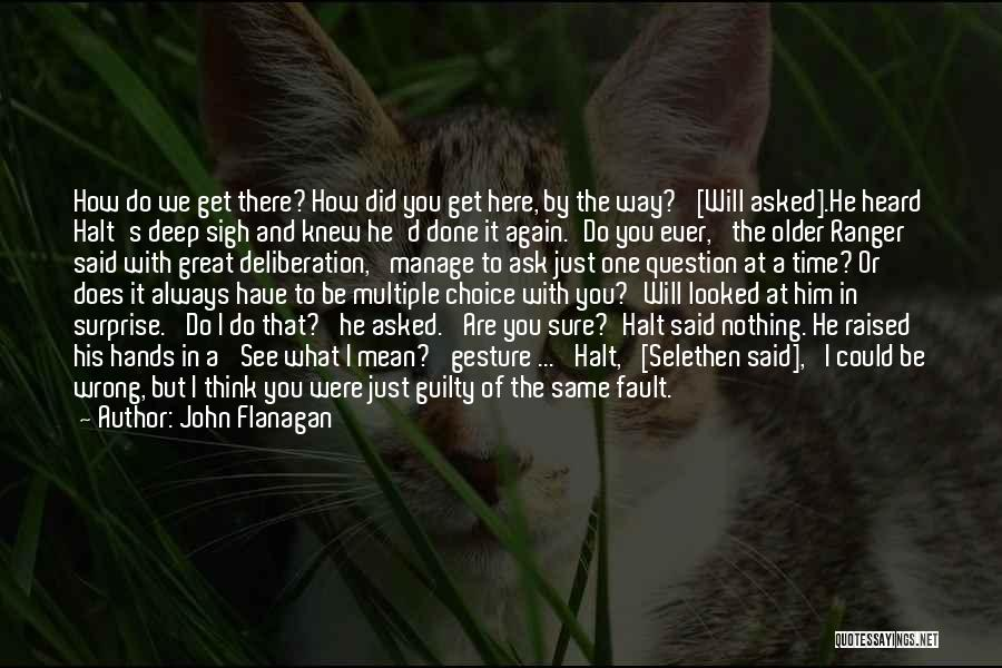 I'm Just Nothing To You Quotes By John Flanagan