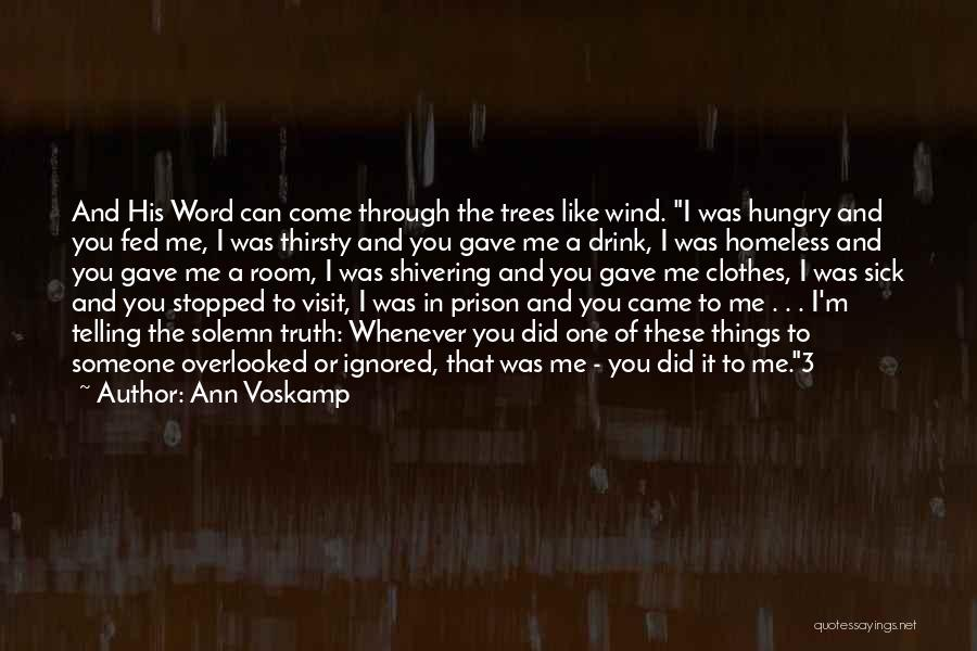 I'm Like A Wind Quotes By Ann Voskamp