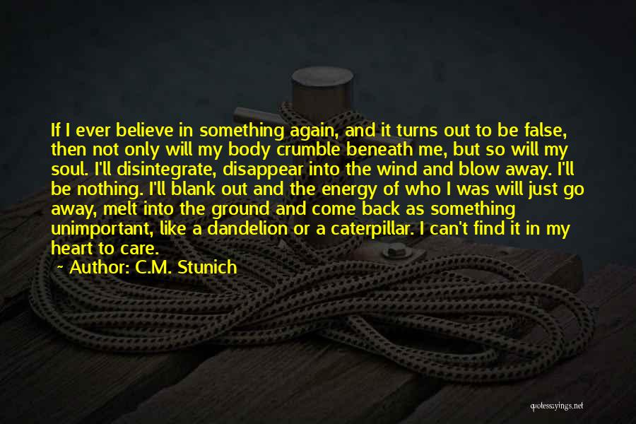 I'm Like A Wind Quotes By C.M. Stunich