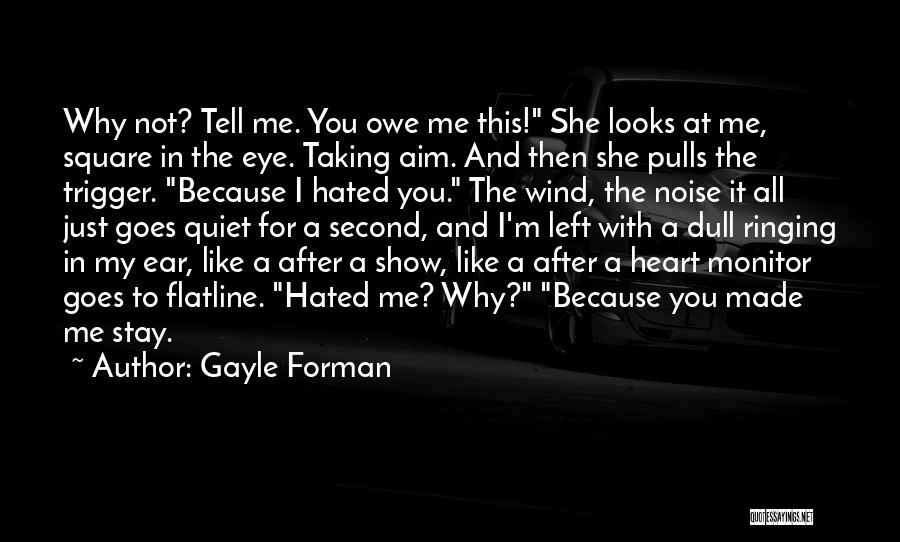 I'm Like A Wind Quotes By Gayle Forman