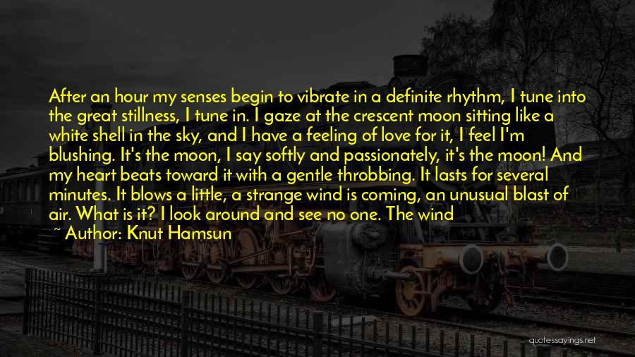 I'm Like A Wind Quotes By Knut Hamsun