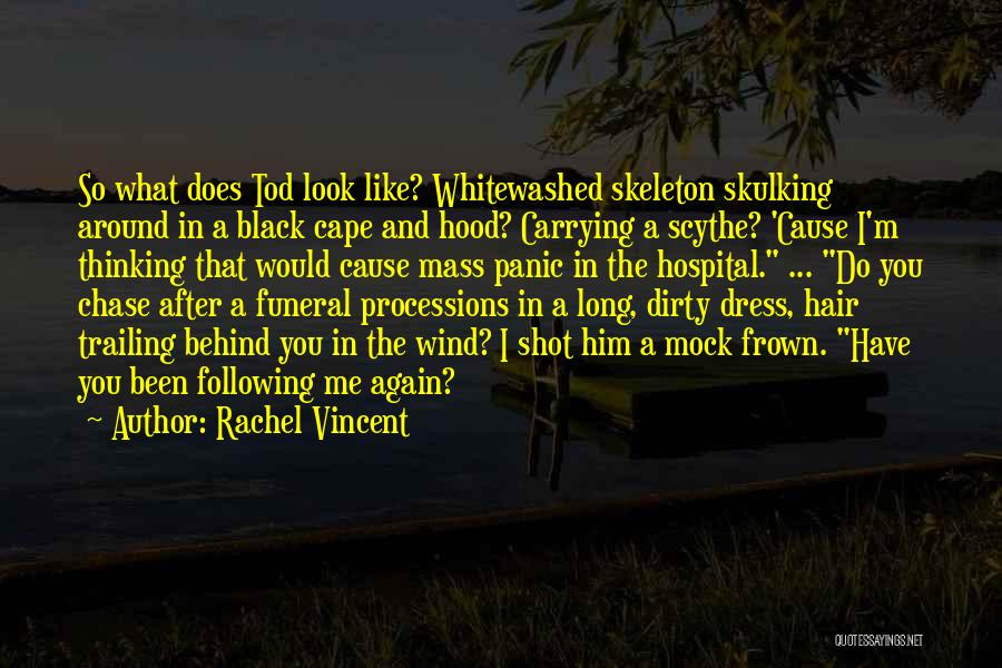 I'm Like A Wind Quotes By Rachel Vincent