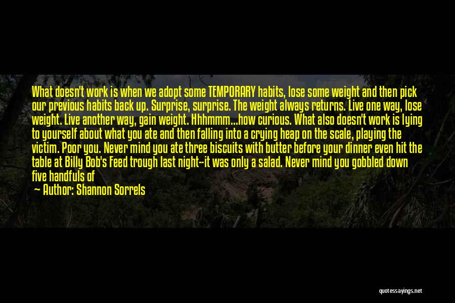I'm Never Worth It Quotes By Shannon Sorrels