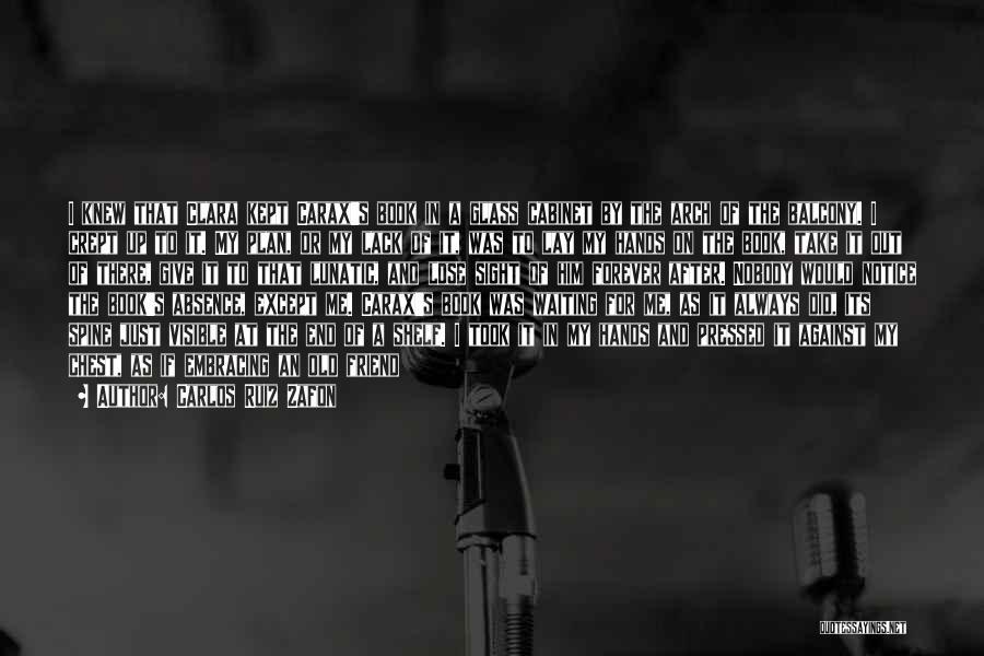 I'm Nobody's Ex Quotes By Carlos Ruiz Zafon