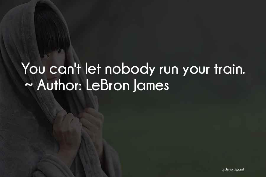 I'm Nobody's Ex Quotes By LeBron James