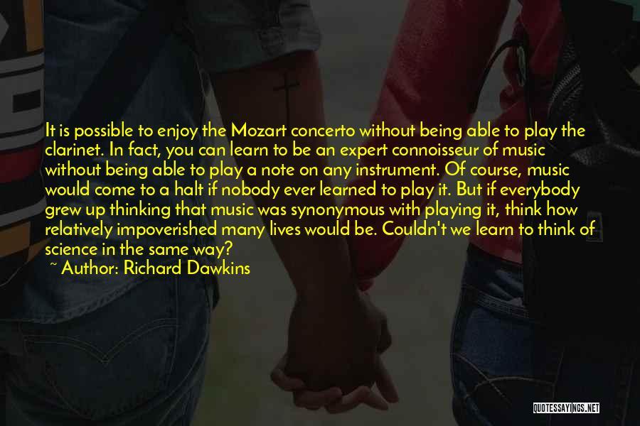 I'm Nobody's Ex Quotes By Richard Dawkins