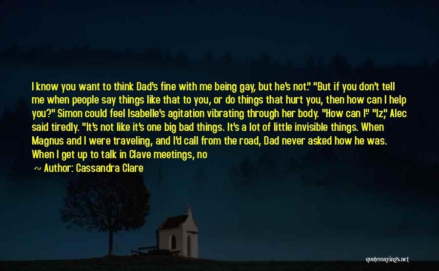 I'm Not A Bad Mom Quotes By Cassandra Clare