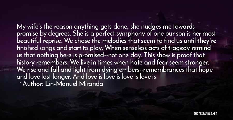 I'm Not A Perfect Wife Quotes By Lin-Manuel Miranda