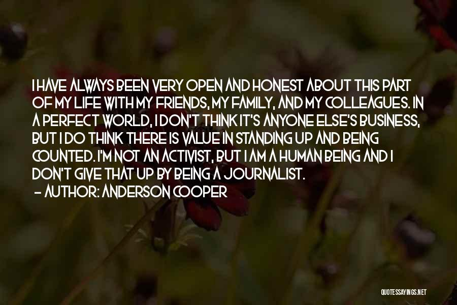 I'm Not Always Perfect Quotes By Anderson Cooper