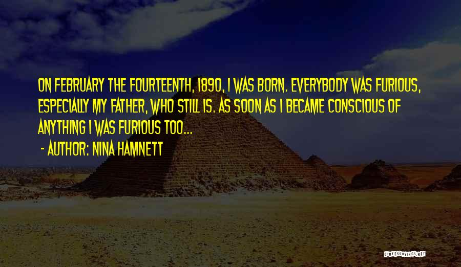 I'm Not Born To Please Everybody Quotes By Nina Hamnett