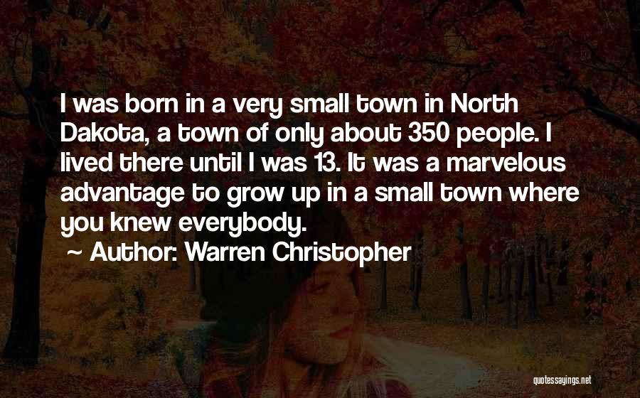 I'm Not Born To Please Everybody Quotes By Warren Christopher