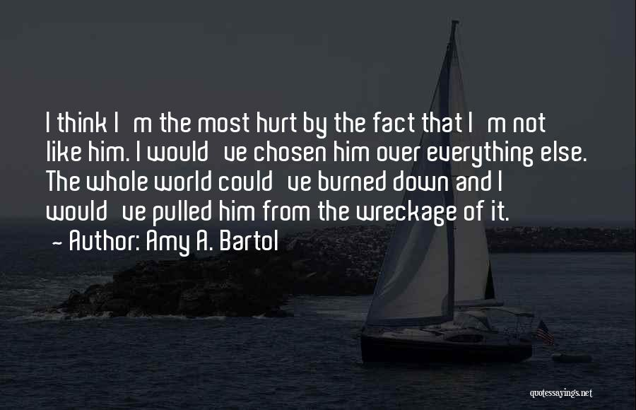 I'm Not Hurt Quotes By Amy A. Bartol