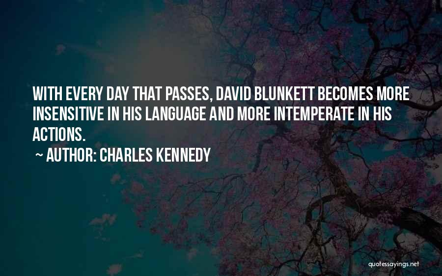 I'm Not Insensitive Quotes By Charles Kennedy