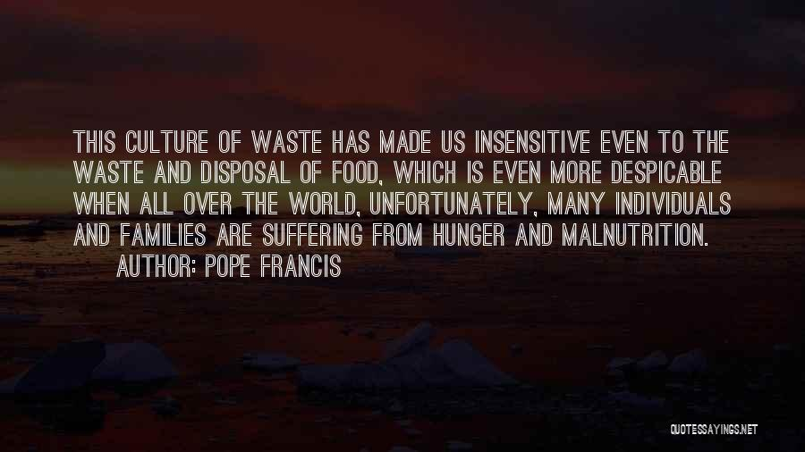 I'm Not Insensitive Quotes By Pope Francis