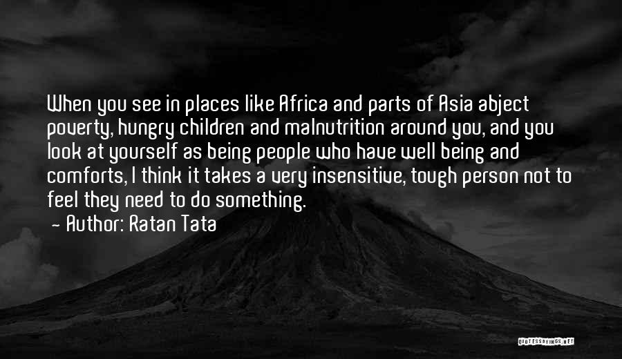 I'm Not Insensitive Quotes By Ratan Tata