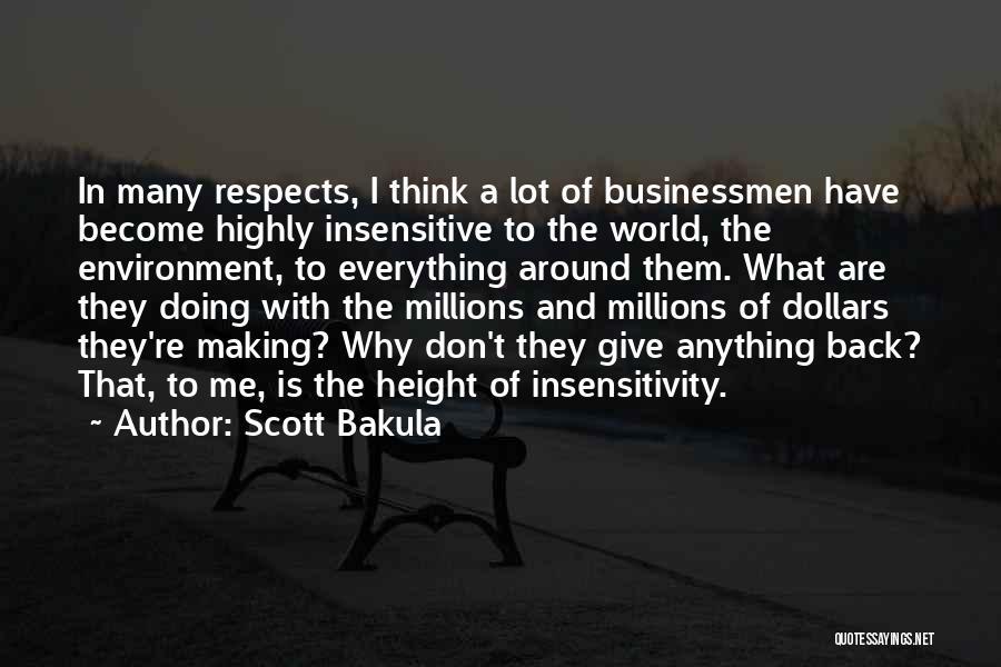 I'm Not Insensitive Quotes By Scott Bakula