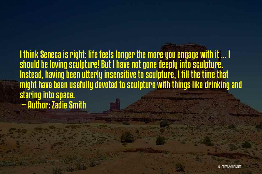 I'm Not Insensitive Quotes By Zadie Smith