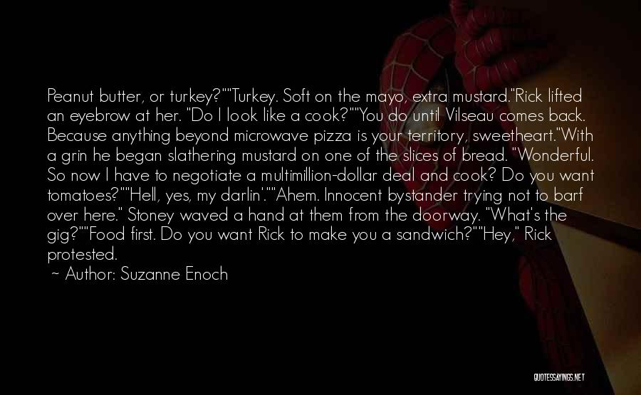 I'm Not So Innocent Quotes By Suzanne Enoch