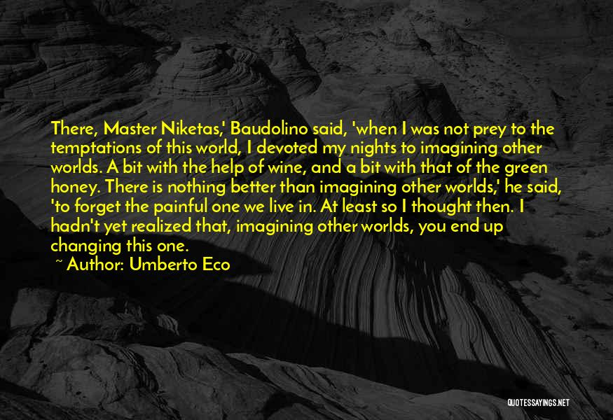 I'm Not There Yet Quotes By Umberto Eco