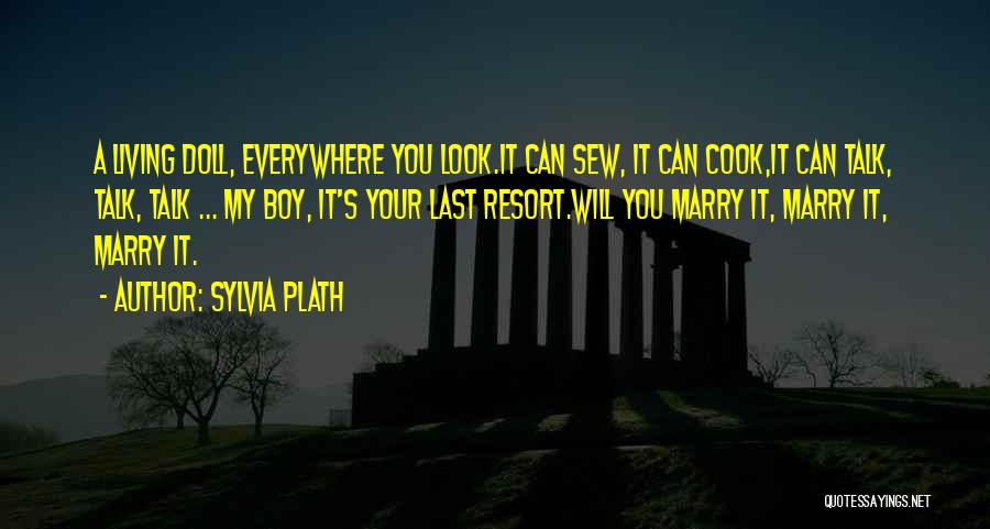 I'm Not Your Last Resort Quotes By Sylvia Plath