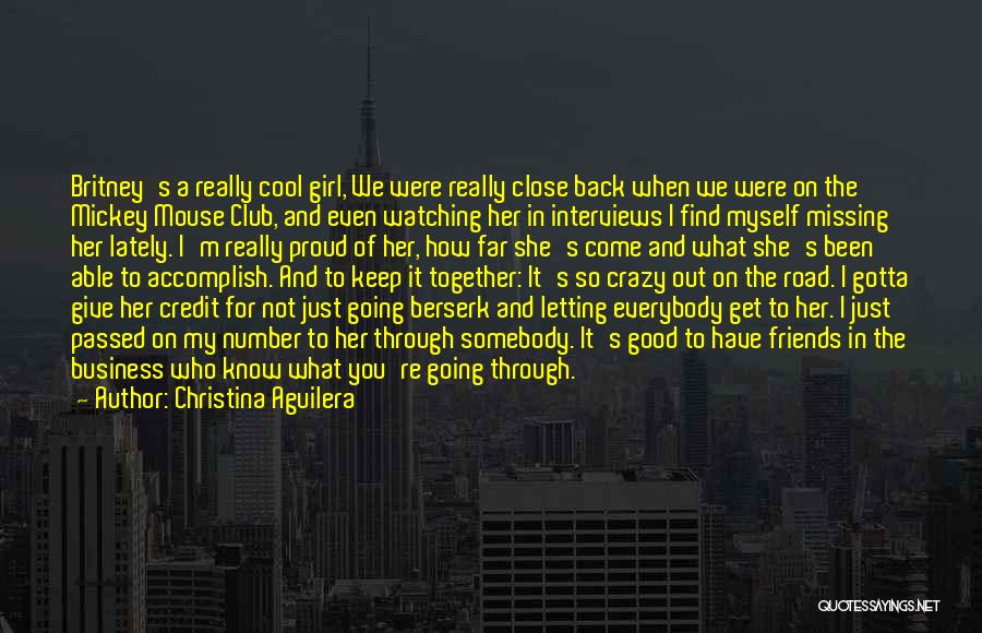 I'm Proud Of Her Quotes By Christina Aguilera