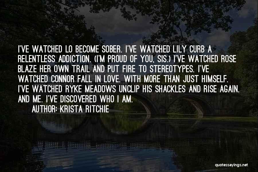 I'm Proud Of Her Quotes By Krista Ritchie