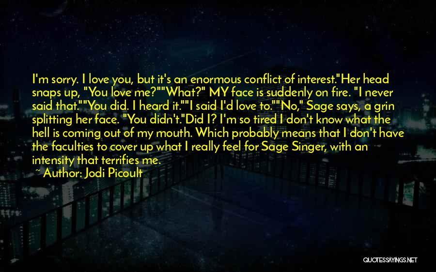 I'm Sorry For What I Did Quotes By Jodi Picoult