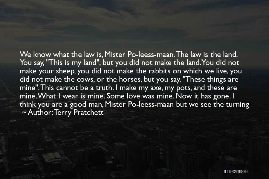 I'm Sorry For What I Did Quotes By Terry Pratchett