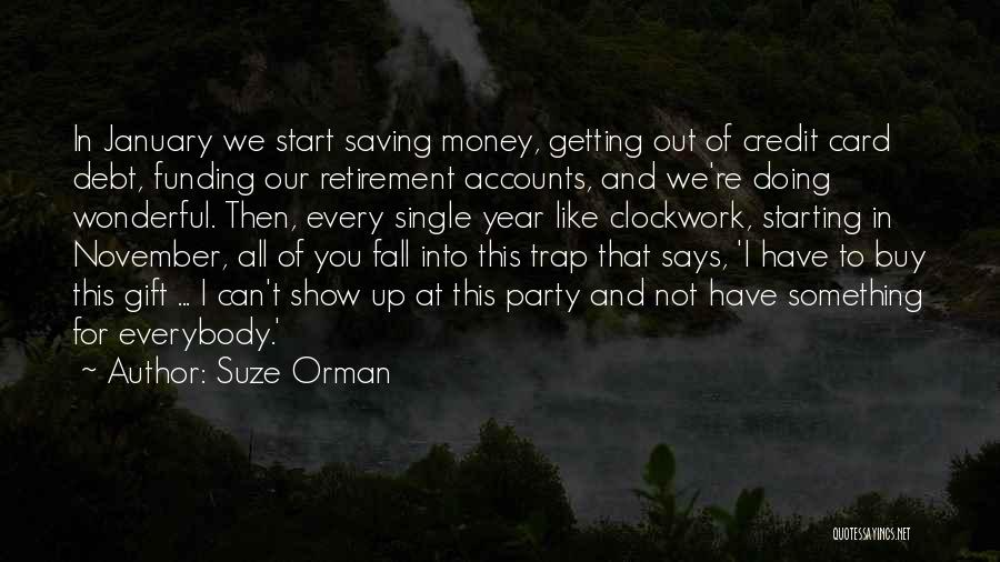 I'm Starting To Fall For You Quotes By Suze Orman