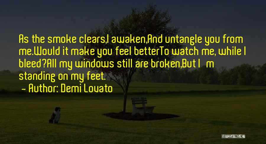 I'm Still Standing Quotes By Demi Lovato
