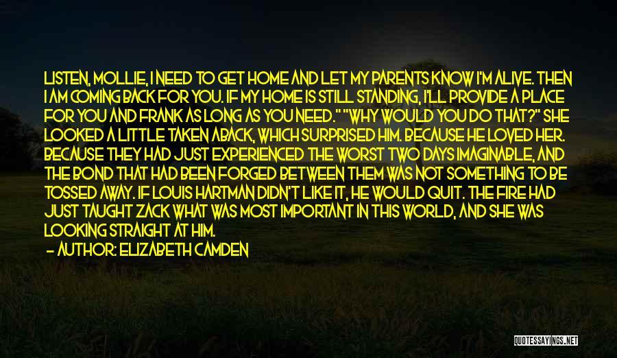 I'm Still Standing Quotes By Elizabeth Camden