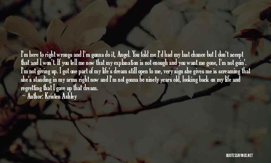 I'm Still Standing Quotes By Kristen Ashley