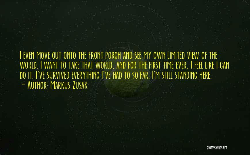 I'm Still Standing Quotes By Markus Zusak