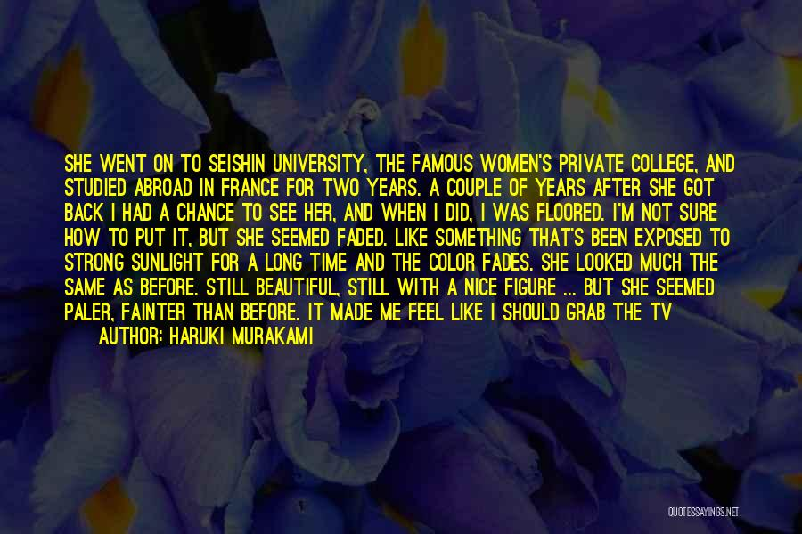 I'm Still Strong Quotes By Haruki Murakami