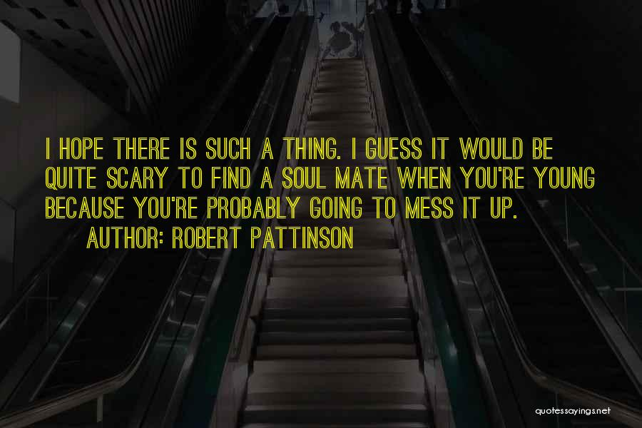I'm Such A Mess Up Quotes By Robert Pattinson