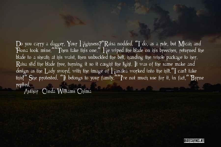 I'm The Whole Package Quotes By Cinda Williams Chima