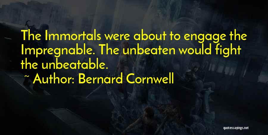 I'm Unbeatable Quotes By Bernard Cornwell